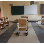 A.C Class Rooms with Smart Boards